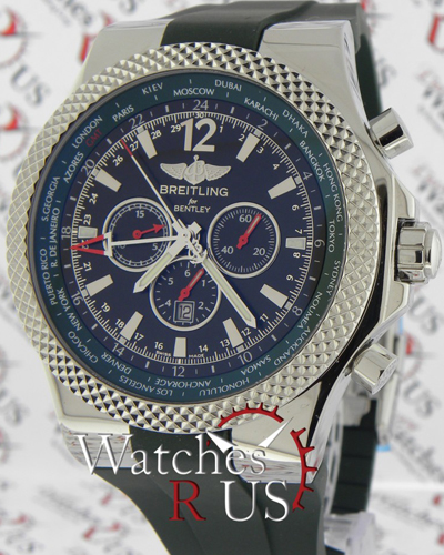 Breitling For Bentley Motors Special Blue Dial Edition: BREITLING NEW Bentley Motors Limited Edition Of 1000